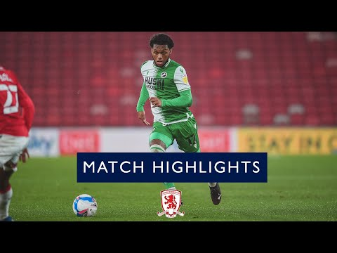 Middlesbrough Millwall Goals And Highlights