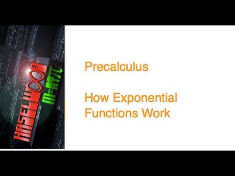 how to solve exponential functions precalculus