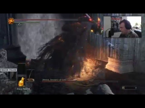 Sok greed, és kevés dodge | Dark Souls 3 - Aldrich, Devourer of Gods