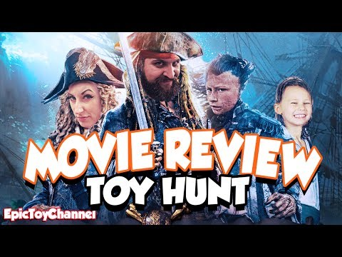 PIRATES OF THE CARIBBEAN 5 Movie Review & POTC 5 Toy Hunt + Johnny Depp at Disneyland Toys