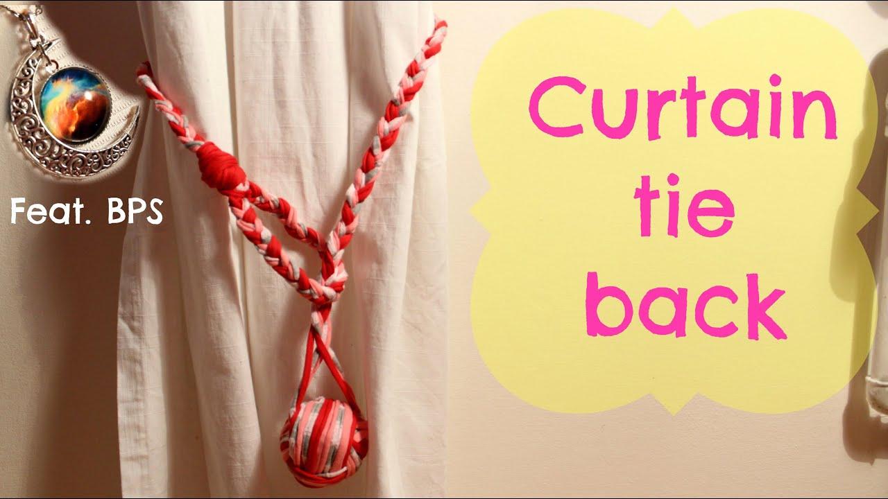 DIY curtain tie back ft BornPrettyStore moon necklace