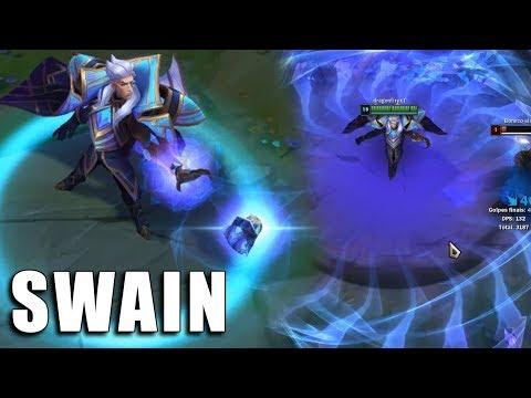 Swain Hextech - League of Legends (Prévia)