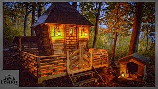 Строим дом из поддонов. От начала до конца