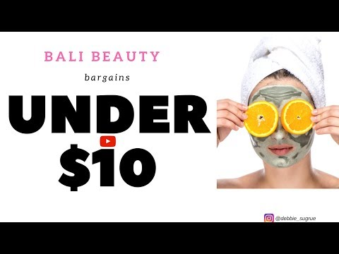 Balis best beauty products