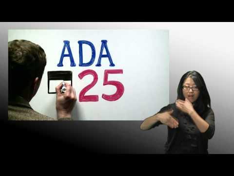 Celebrate 25 Years Of The ADA