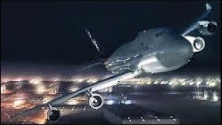 Flying a Boeing 747 In Flames - UPS Airlines Flight 6 - P3D