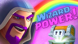 Clash Royale - PRO WIZARD DECK STRATEGY!! (Best way to counter cards)