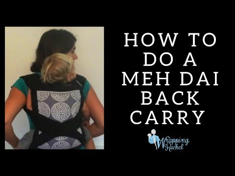 Secure and Easy Meh-dai Back Carry Method