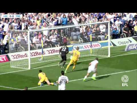 Leeds United 3 PNE 0, Saturday 8th April 2017, Sky Bet Championship