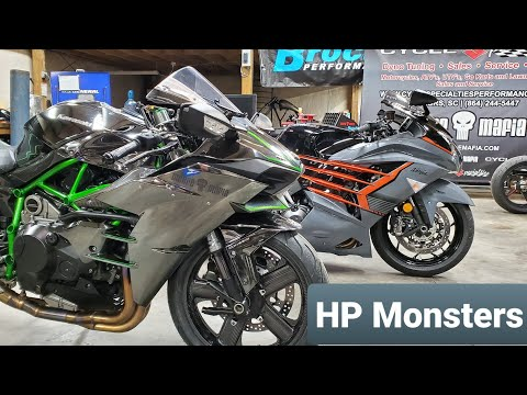 Is KAWASAKI The HP KING Right NOW? H2 And ZX14