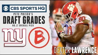 The Giants found their big guy in Dexter Lawrence | NFL Draft 2019 | CBS Sports HQ