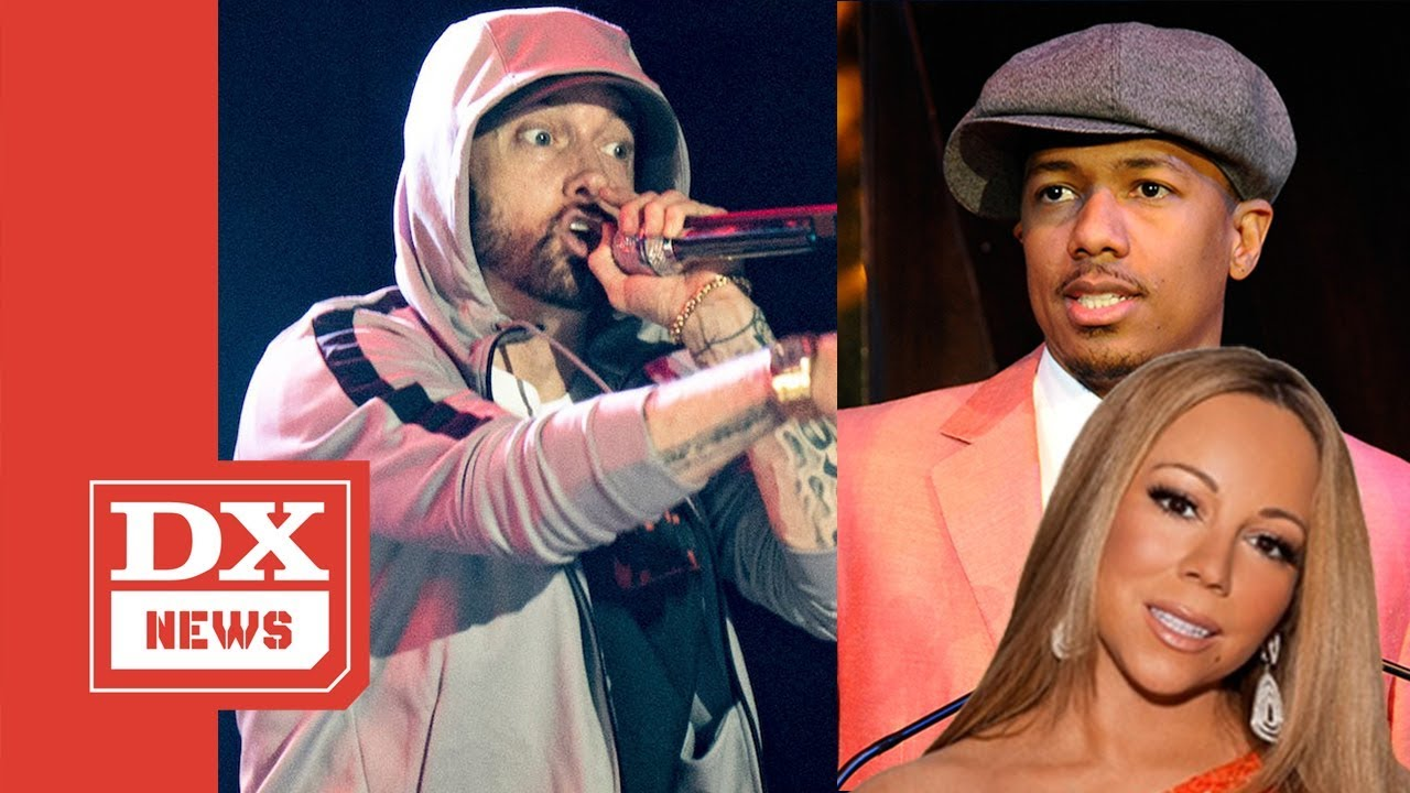 Nick Cannon claps back at Eminem in diss track battle, claims ...