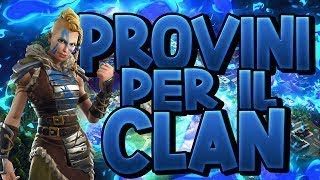 [LIVE] FORTNITE ITA ? GIFT TO ONE DI VOI LA SKIN GALAXY !!!! | PROVINI PER CLAN DYX !!!