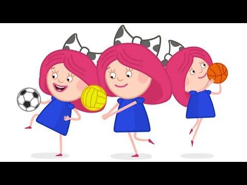 Смарта и футбол 2018. Мультики для детей. Смарта и чудо сумка