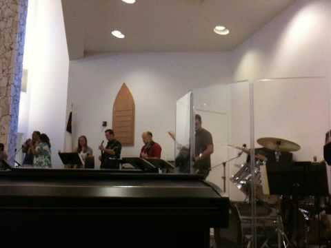 Advent Lutheran praise band - I Will Worship (Plumbline)