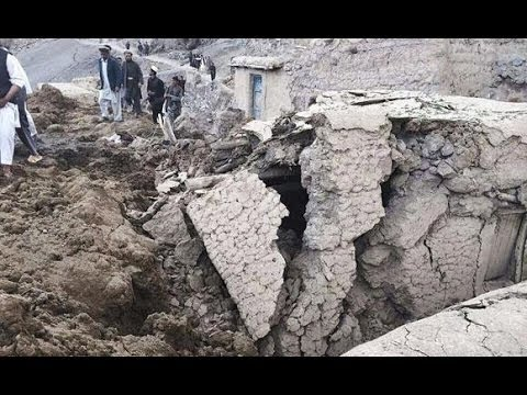 Landslide in Afghanistan [2014]: At Least 350 Killed and 2000 Missing, Declared a Mass Grave
