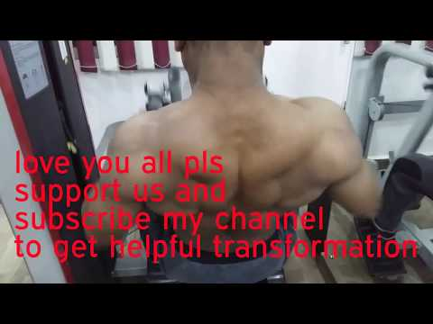 A day back workout after fasting