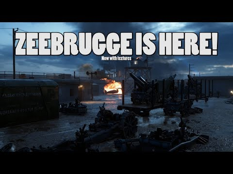 Zeebrugge is here! - Battlefield 1 turning tides gameplay