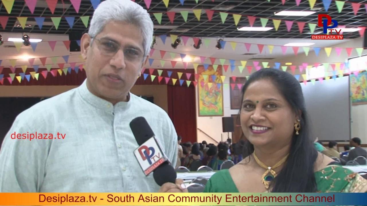 Ramesh Melkote, Convener, Navika Convention(Kannada) speaking to Desiplaza TV