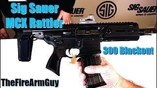 Sig Sauer MCX Rattler in .300 Blackout - TheFireArmGuy