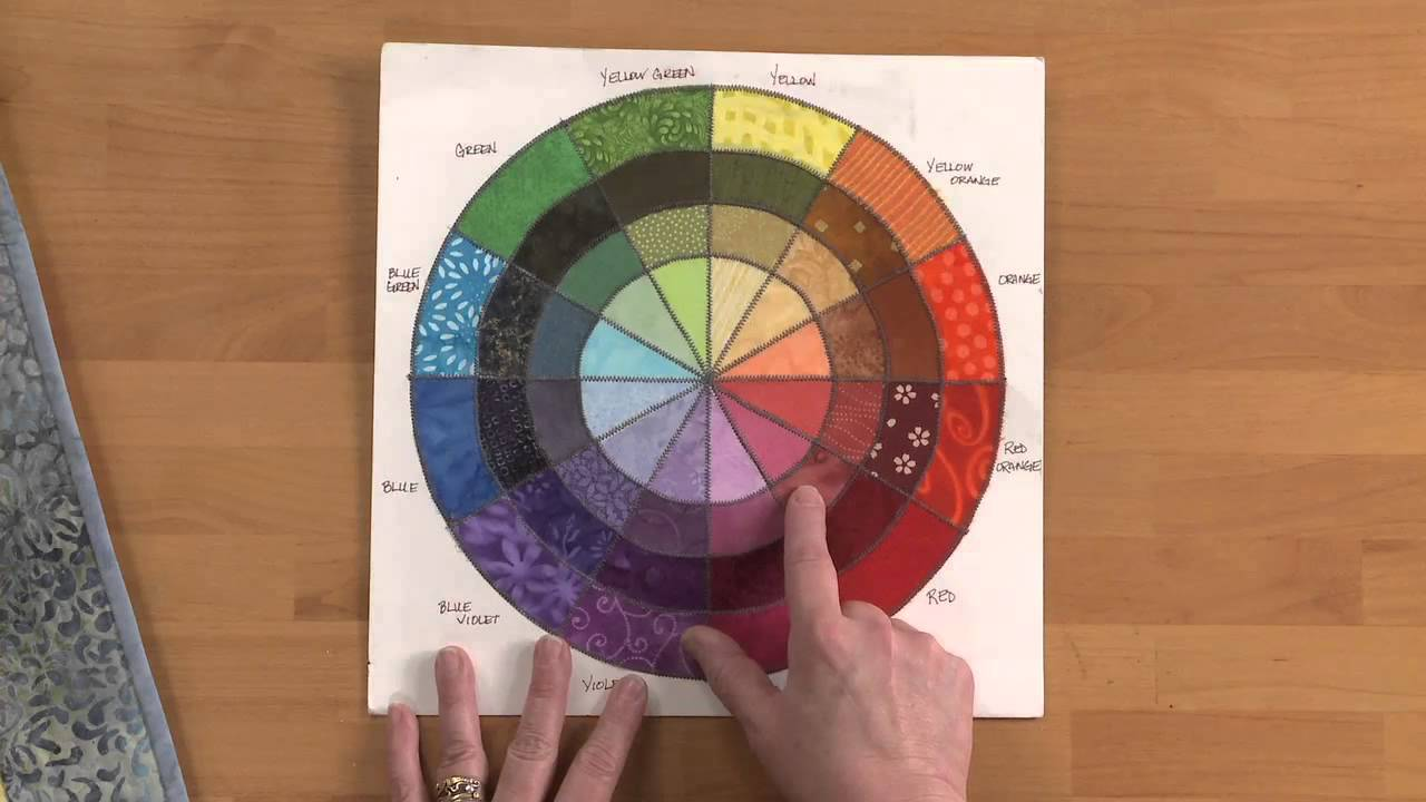 Color theory online games - How To Use A Color Wheel For Quilting National Quilter S Circle Youtube