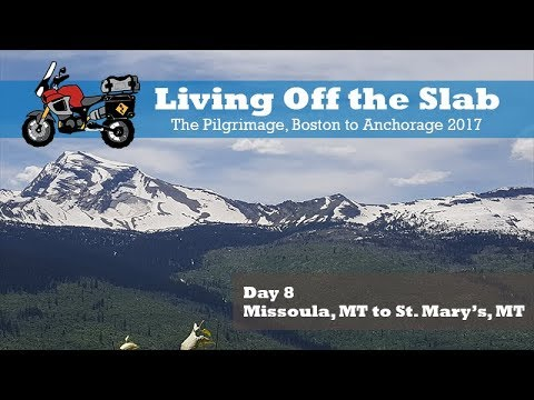 The Pilgrimage, Boston to Anchorage 2017, Day 8