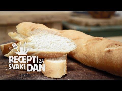 Francuski kruh - video recept