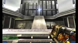 Unreal Tournament 2003 Gameplay Bombing Run Skyline