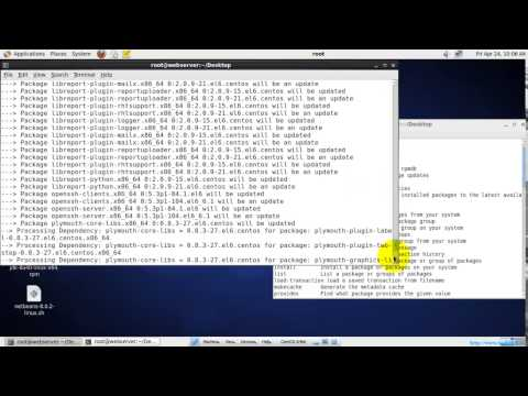 Install Packages in Linux using YUM Command
