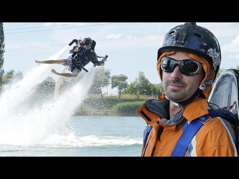 Extrém vízi repülés !! Pamkutya kalandok #6