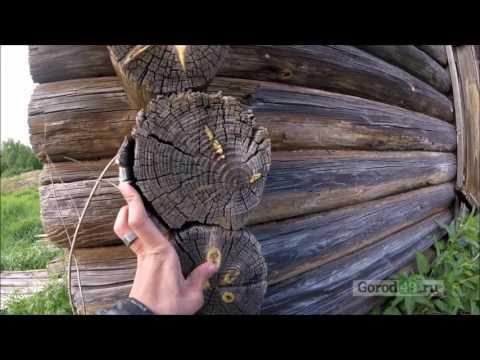 «Застывшее время»: деревянная Русь в поселке Смычка Чаплыгинского района