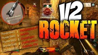 """V2 ROCKET"" GAMEPLAY! (Secret NUKE Killstreak in Call of Duty WW2)"