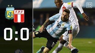 Lionel Messi bangt um WM-Teilnahme: Argentinien - Peru 0:0 | Highlights | WM-Quali | DAZN