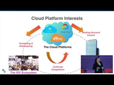 ESCAPE Conference 2019: ISVs in a Multi-Cloud World -- Christina Noren, CPO Emeritus, CloudBees