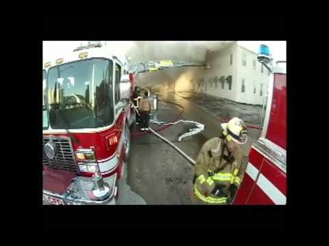 Raw video: Del's fire