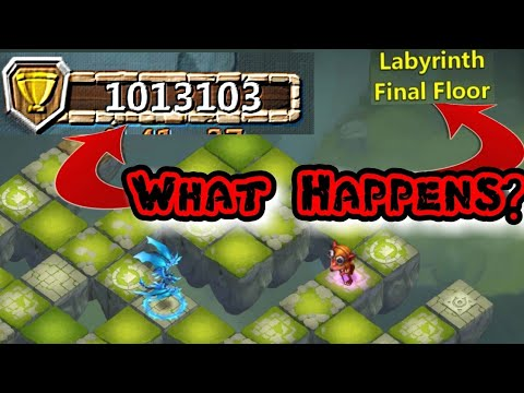 1,000,000+ Points In LABYRINTH! But What Happens After Final Floor? Castle Clash