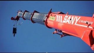 PALFINGER SANY - Rough Terrain Crane Video SRC 350C (EN)