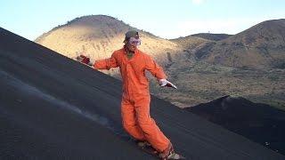 Volcano Boarding. Вулканобординг [CRASH]