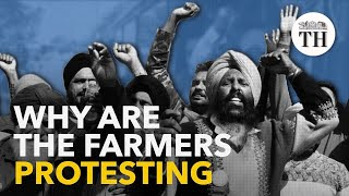 Why are the farmers protesting?
