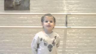 """""""Лев и Мышь"""" Л.Н. Толстого. Рожкова Василиса, 3,5  года"""