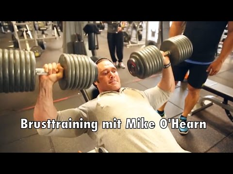 ProBro Chest Workout with Mike O'Hearn & Ralf Möller @Golds Gym Venice Part 1