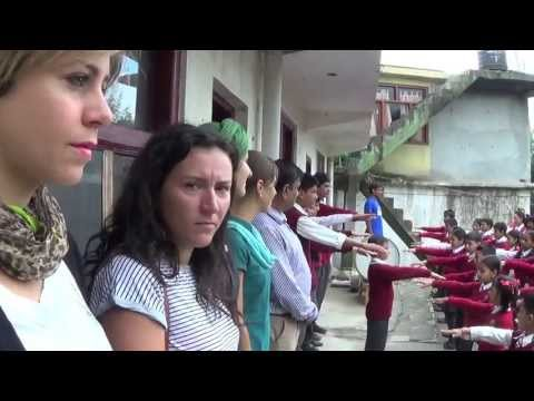 YLENIA CITINO - Himalaya Education Program 2013 - Ylenia, Paula, Eva e Mariasilvia