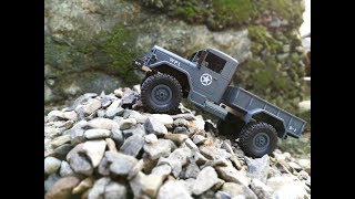 WPL 1/16 4WD Off Road RC Crawler - Unboxing and First Run!!