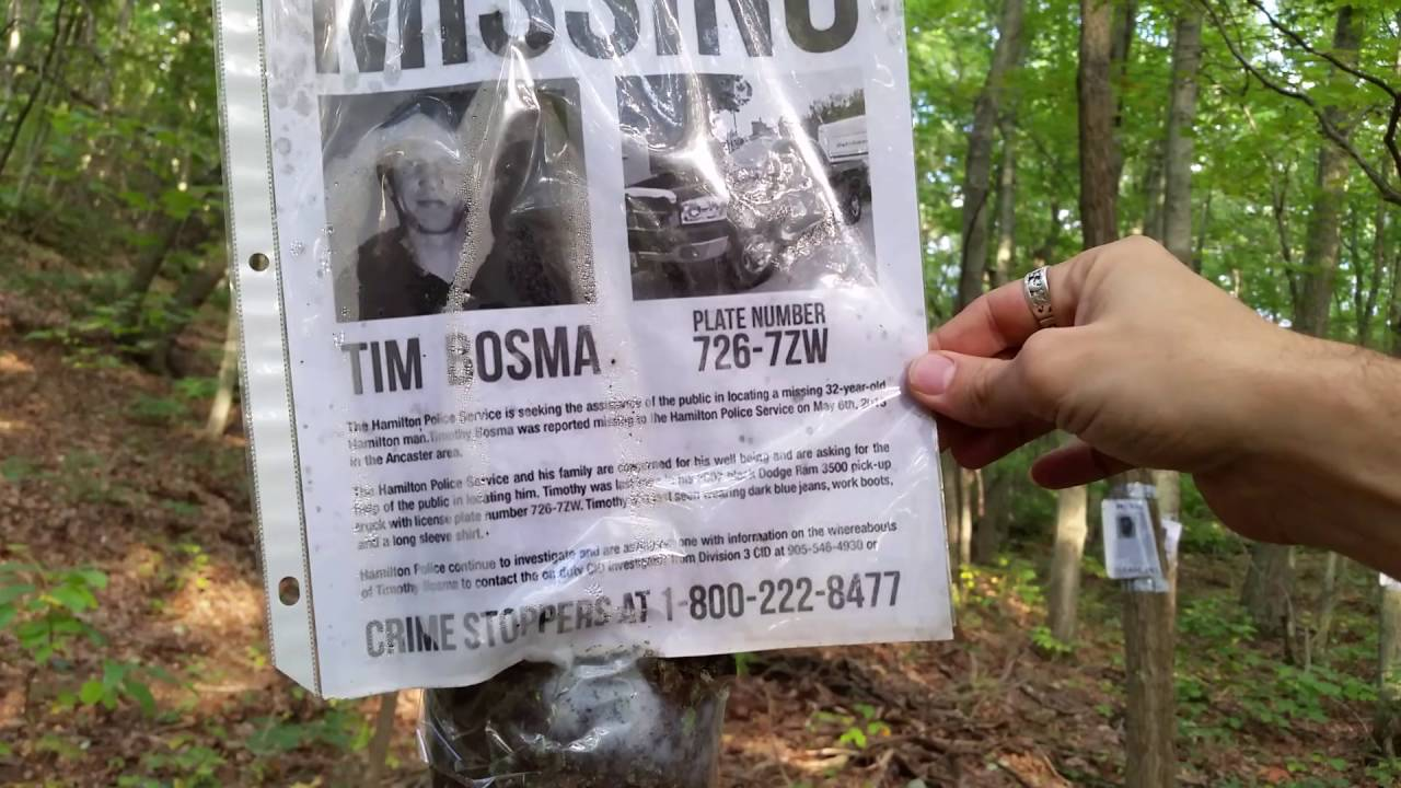 Creepy Shit In The Woods, Part 1 Of 2   YouTube  Missing Person Posters