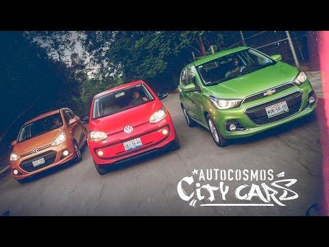 Spark VS Up VS Grand i10 - Comparativa City Cars