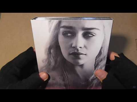 Game of Thrones Season 4 Blu ray unboxing...