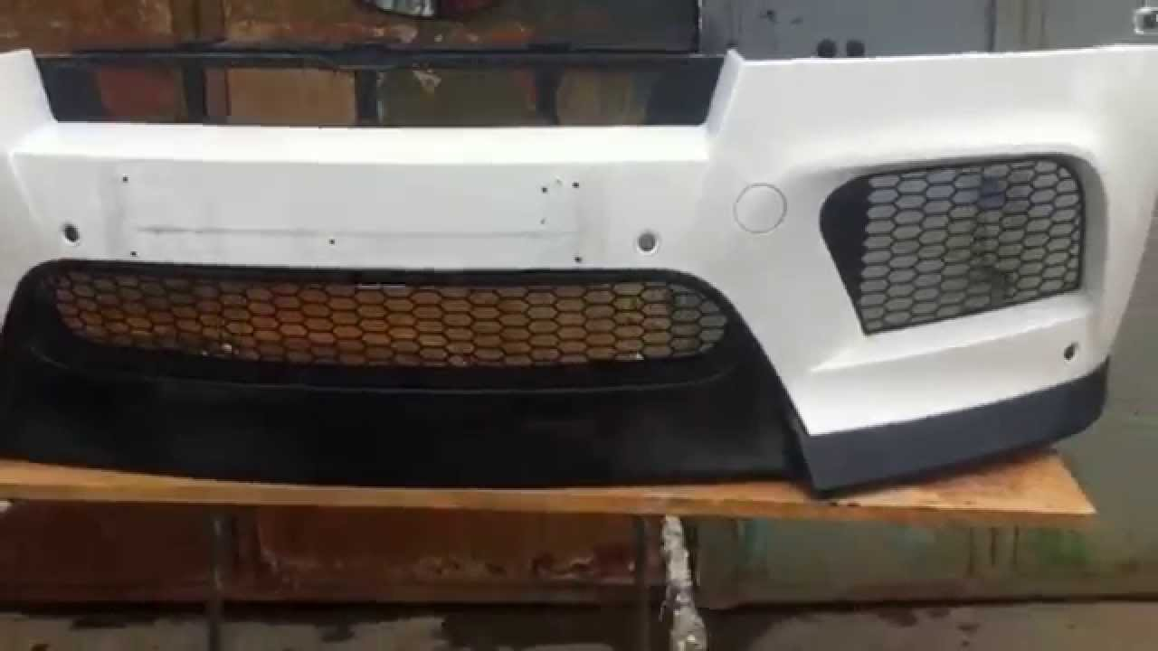 Bmw X6 X5 Front Spoiler Vorsteiner For M Bumper Youtube