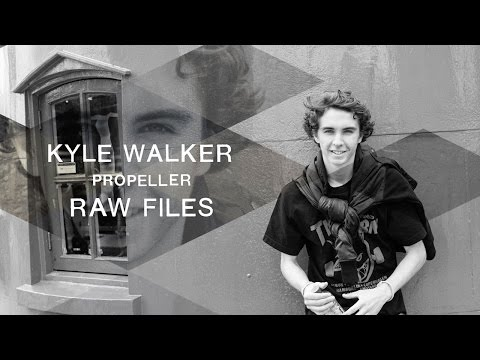 Kyle Walker's 'Propeller' RAW FILES