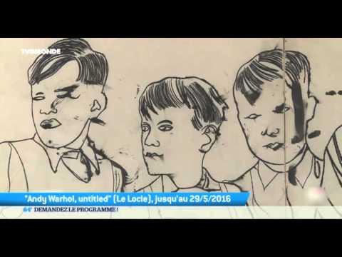 Art: Dessins inédits de Warhol exposés au Locle