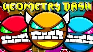 Online Demons! Geometry Dash